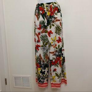 Tropical palazzo pants by Parisian. Size 4